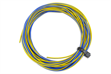 Dcc Concepts TWIN Decoder Wire Stranded 6m (32g) Yellow/Blue