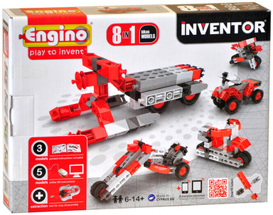 ENGINO INVENTOR 8IN1 MOTORBIKES SET