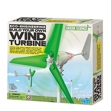 ECO ENGINEERING BUILD YOUR OWN WIND TURBINE