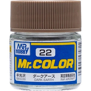 MR COLOR SEMI GLOSS DARK EARTH