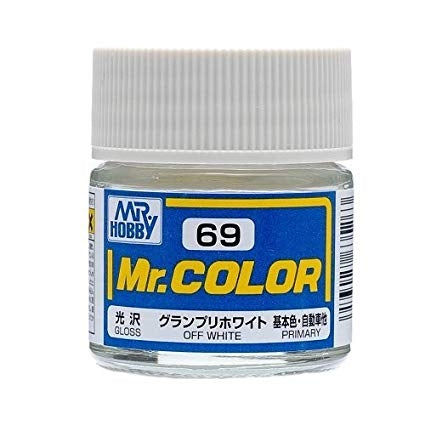 MR HOBBY MR COLOR 69 GLOSS OFF WHITE