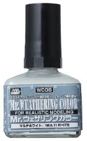 MR HOBBY WC05 MR WEATHERING COLOUR MULTI WHITE