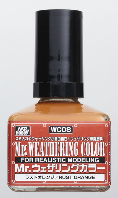 MR HOBBY WC08 MR WEATHERING COLOUR RUST ORANGE