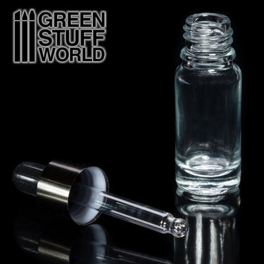 GSW EMPTY GLASS JAR W/PIPETTE