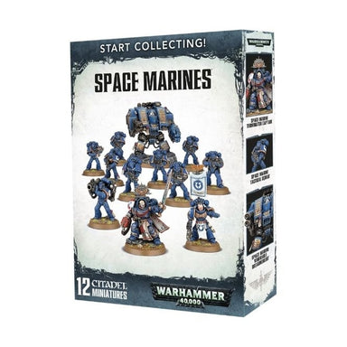 GW 70-48 START COLLECTING! SPACE MARINES