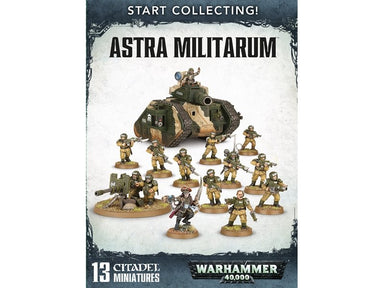 GW 70-47 START COLLECTING! ASTRA MILITARUM