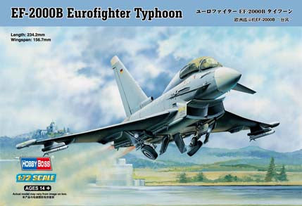 HOBBY BOSS 1/72 EF-2000B EUROFIGHTER TYPHOON