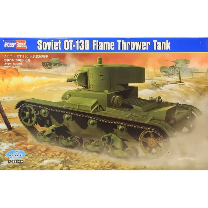HOBBY BOSS 1/35 SOVIET OT-130 FLAME THROWER TANK