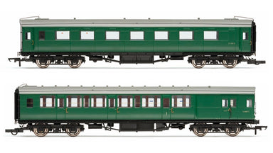 HORNBY R4534E BR PULL-PUSH COACH PACK