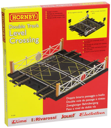 Hornby OO Double Track Level Crossing