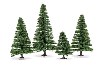Hornby R7207 Small Fir Trees 4-8Cm (4)