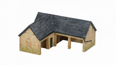 HORNBY R9849 OO/HO COUNTRY FARM OUTHOUSE