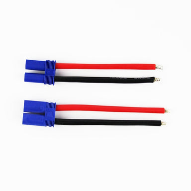 HOBBYTECH EC5 MALE/FEMALE W/14AWG SILICON WIRE 100MM