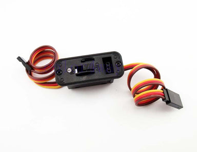 HOBBYTECH HEAVY DUTY SWITCH W/LED AND CHARGE LEAD