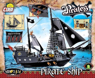 COBI PIRATE SHIP 400PC