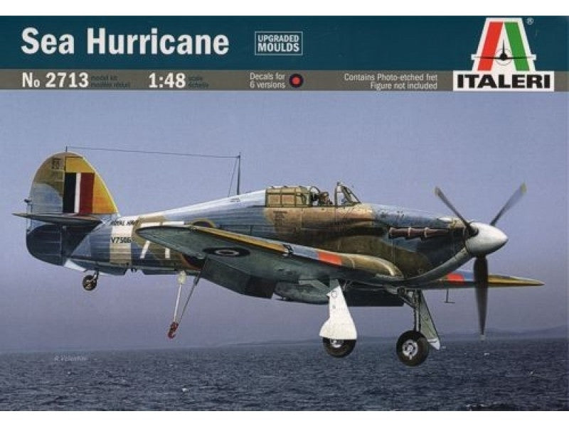 ITALERI 1/48 SEA HURRICANE PLASTIC MODEL KIT