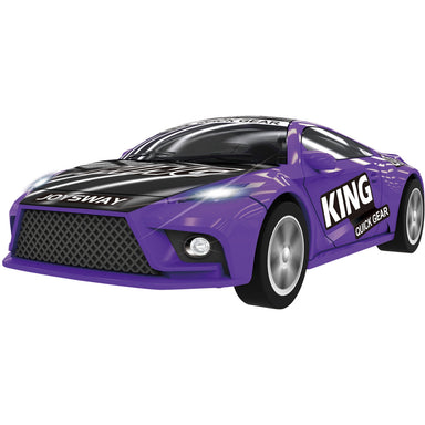 JOYSWAY 1/43 KING PURPLE RACER CAR