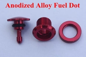 KUZA RED ANODIZED FUEL DOT