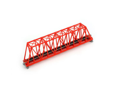 Kato N 248mm 9-3/4in Truss Bridge Red