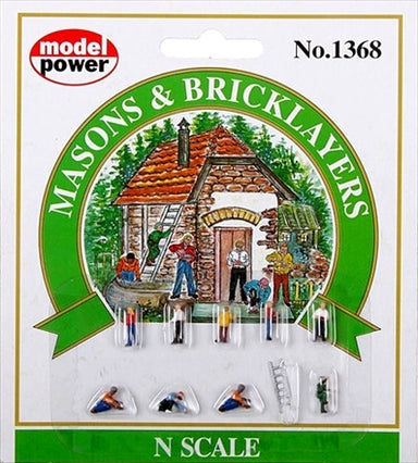 MODEL POWER N MASONS/BRICKLAYERS (9)