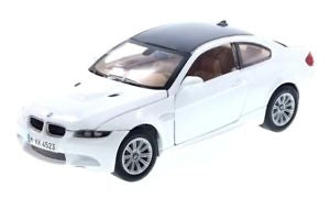 MOTOR MAX 1/24 BMW M3 COUPE WHITE