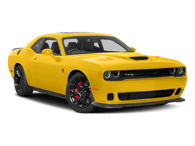 MOTOR MAX 1/24 2018 DODGE CHALLENGER SRT HELLCAT WIDEBODY YELLOW