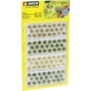 NOCH 07004 GRASS TUFTS XL BEIGE AND GREEN