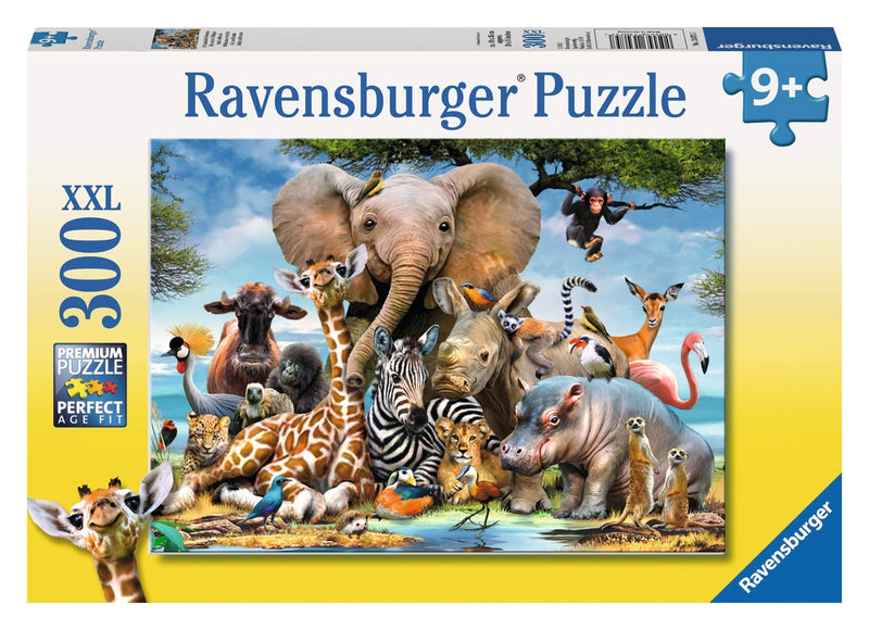 RAVENSBURGER FAVOURITE WILD ANIMALS PUZZLE 300PCS