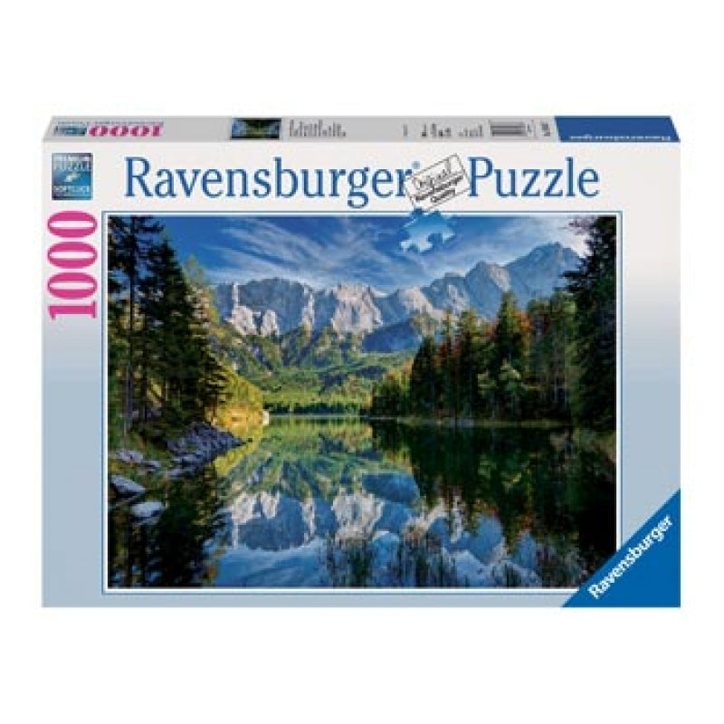 RAVENSBURGER MOST MAJESTIC MOUNTAINS PUZZLE 1000PCS