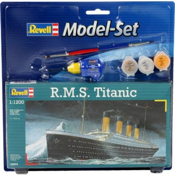 Revell 1/1200 Rms Titanic Model Set