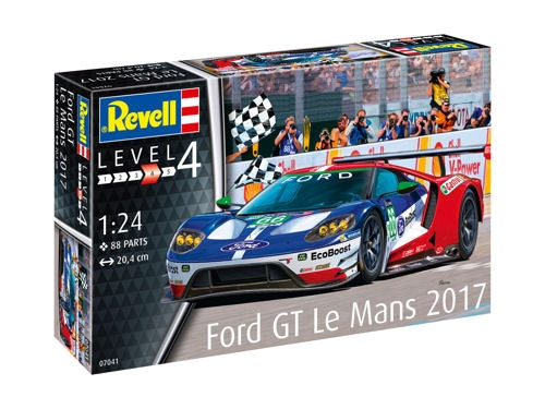 REVELL 1/24 MODEL SET FORD GT LE MANS