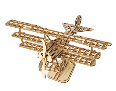 ROBOTIME CLASSICAL 3D WOODEN AIRPLANE KIT