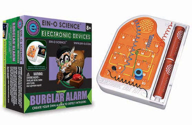 EIN-O SCIENCE ELECTRONIC DEVICE BURGLAR ALARM