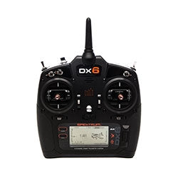 SPEKTRUM DX6 TRANSMITTER WITH AR6600R RECEIVER MODE 1