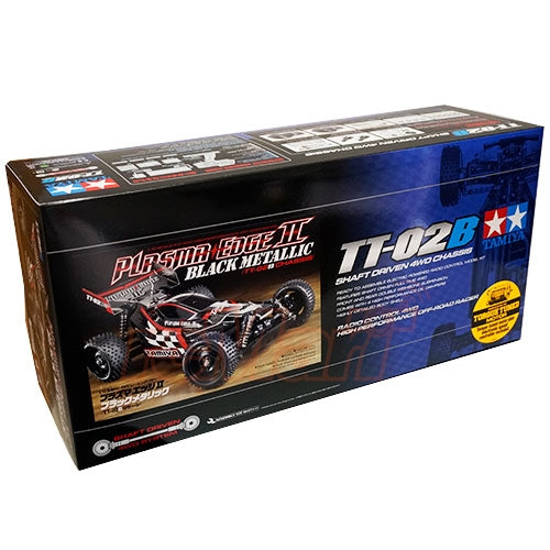 TAMIYA PLASMA EDGE II BLACK METALLIC TT-02B KIT