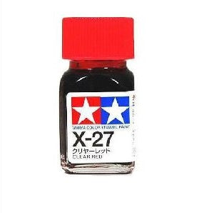 Tamiya X-27 Enamel Clear Red