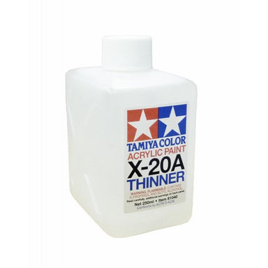 Tamiya X-20A Acrylic Thinners 250ml