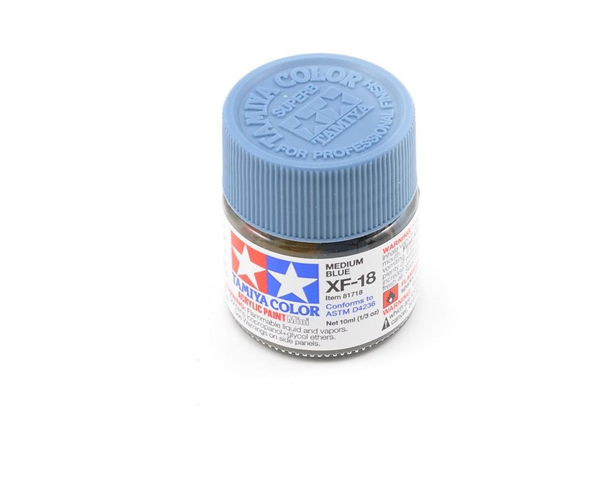 Tamiya XF-18 Acyrlic Medium Blue