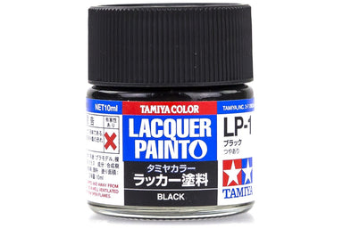 Tamiya Lp-1 Lacquer Paint Black