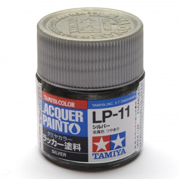 Tamiya Lp-11 Lacquer Paint Silver