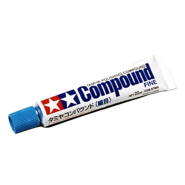 Tamiya 87069 Polishing Compound Fine