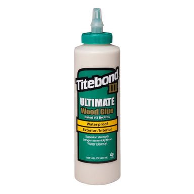 TITEBOND III ULTIMATE WOOD GLUE 473ML