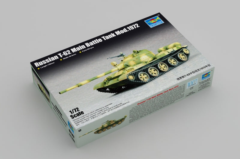 TRUMPETER 07147 1/72 RUSSIAN T-62 MAIN BATTLE TANK MOD 1972