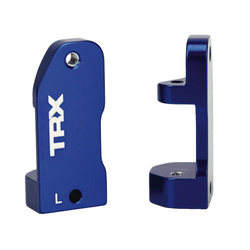 TRAXXAS 3632A CASTER BLOCKS BLUE ANODIZED