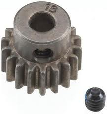 Traxxas 5644 18T Pinion Gear Pinion 0.8 Metric Pitch