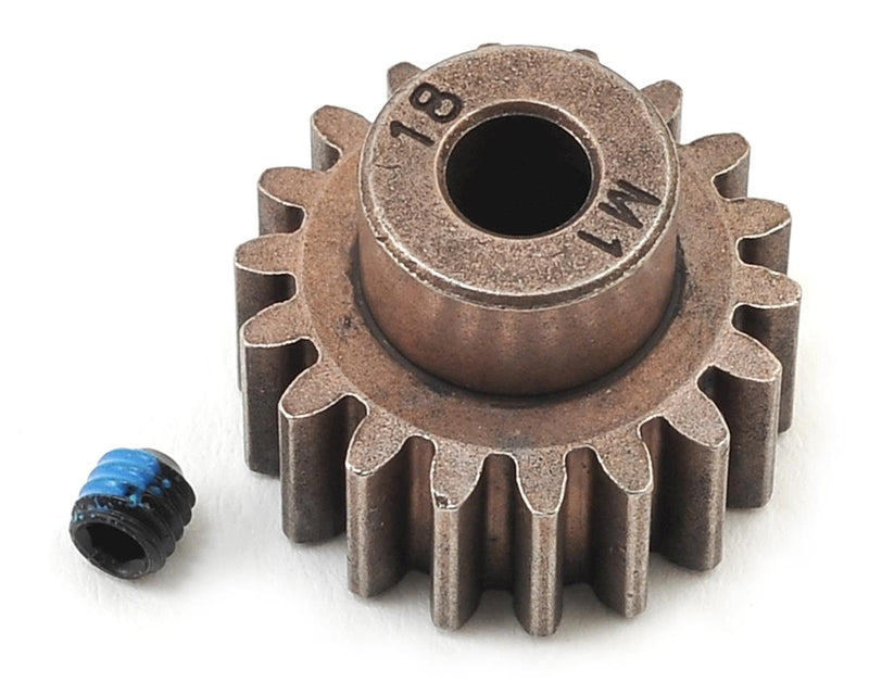 TRAXXAS 6491X 18T 1.0 METRIC PINION GEAR 5MM SHAFT