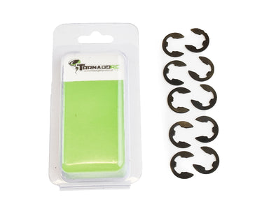 TORNADO RC 8MM ECLIP 10 PER PACK