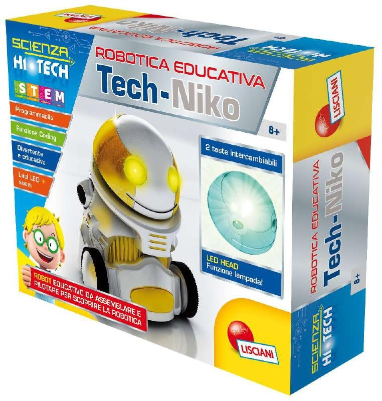 eye orientation Psychologically  Lisciani Scienza Tech Niko Robot — Hobbytech Toys