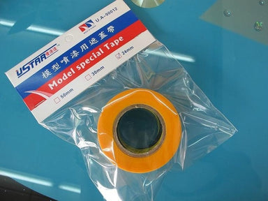 U STAR MASKING TAPE 24MMX18M ROLL