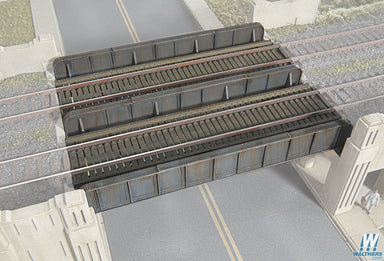 WALTHERS CORNERSTONE HO PLATE GIRDER BRIDGE